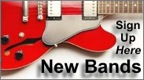 New Bands Sign-Up Form